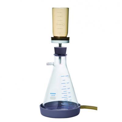 Glas Saugfiltrationsflaschen Kombination