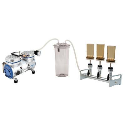 Mehrfach-Vakuumfiltrationsgerät-Kombination